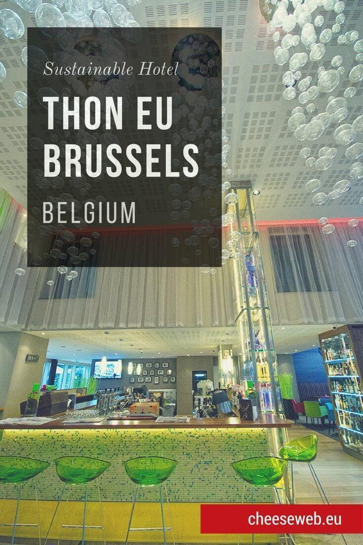 We review the Green Key Eco label Hotel Thon EU in Brussels, Belgium. It's a city-centre hotel with excellent design and one of the top places to stay in Brussels.