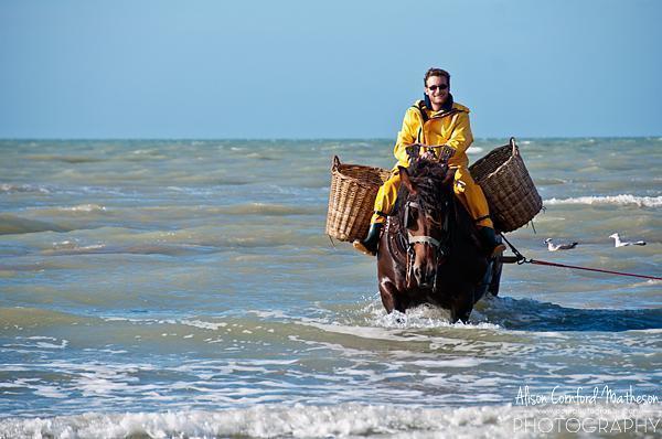 The Shrimp Fishermen on Horseback at Oostduinkerke