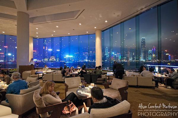 We spent the last night of March admiring the Hong Kong skyline from the Intercontinental Hotel