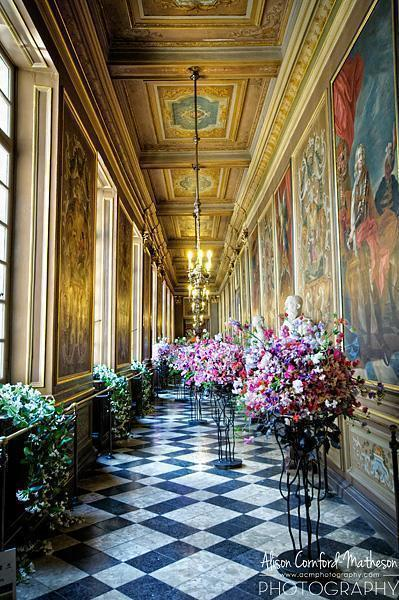 Stunning flowers in the equally stunning Brussels Town Hall