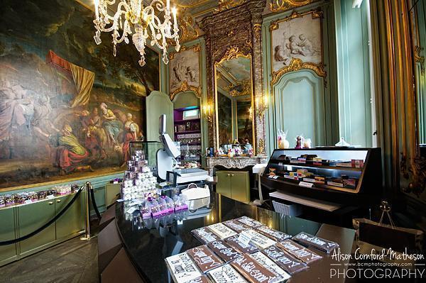 Palais op de Meir a beautiful setting for beautiful chocolates