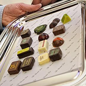 Belgian chocolates from the Chocolate Line in Antwerp