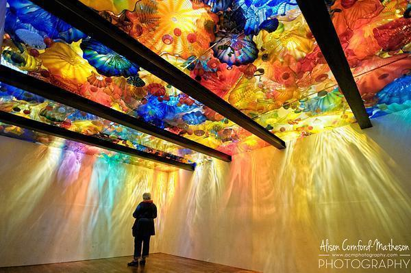 I loved the Chihuly exhibition in Montreal