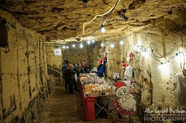 Sweet treats in the Grottes de Wonck