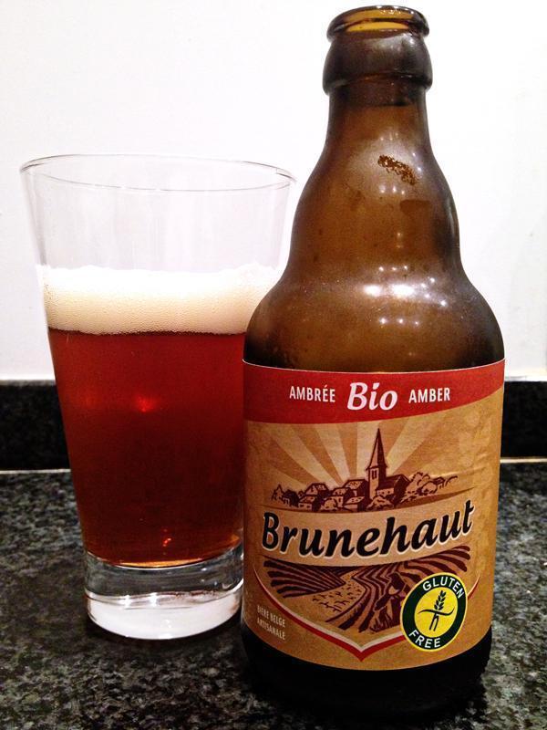 Brunehaut Gluten-free Belgian Amber beer
