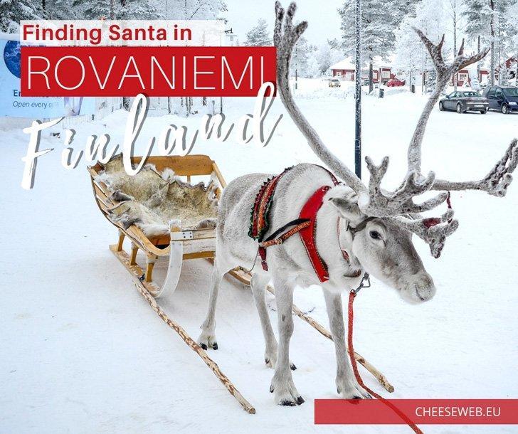 Finding Santa in Rovaniemi, Finnish Lapland
