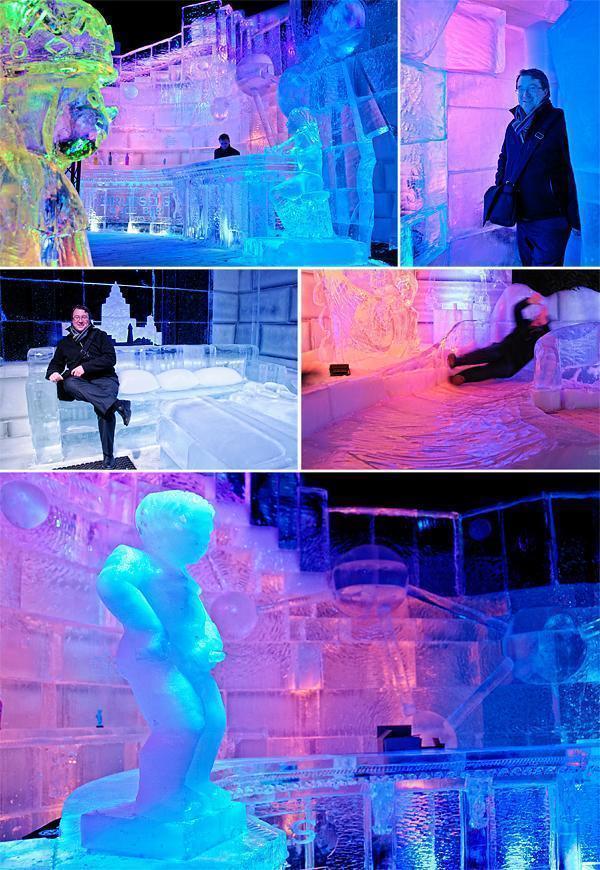 Iterative ice at Ice Magic