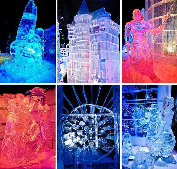 The details at Ice Magic are incredible