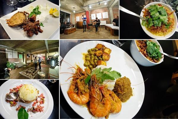 Brussels In Loft Indian dinner