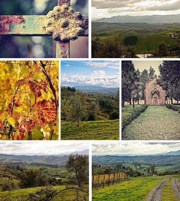 Something to photograph at every turn at Castelfalfi