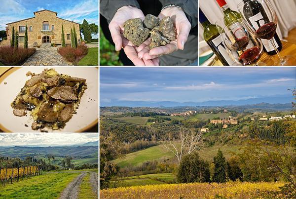 The gorgeous Castelfalfi Resort, Tuscany