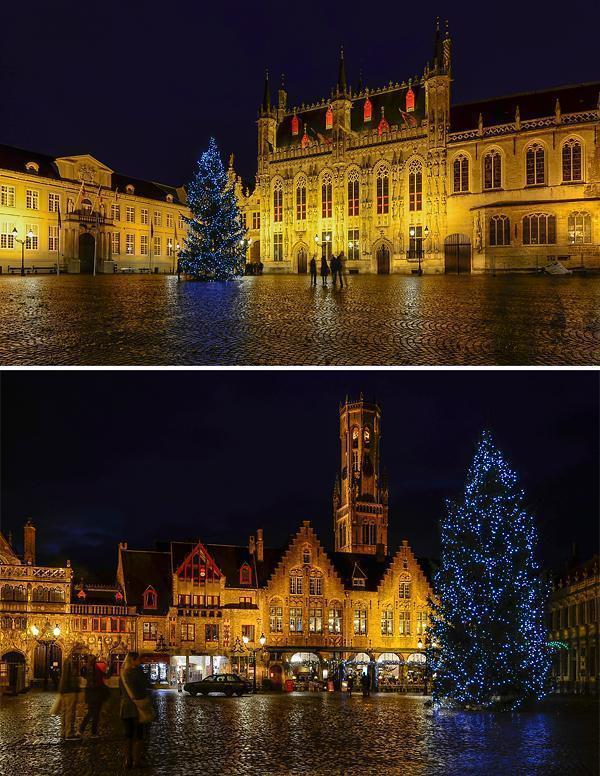 Climb the belfry steps for an amazing view or simply enjoy the Christmas tree
