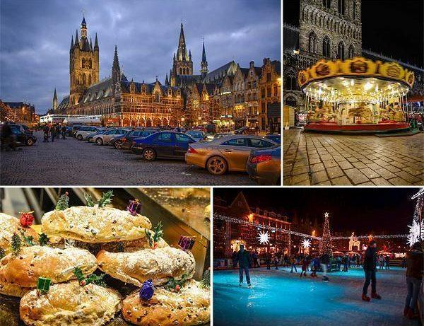 Christmas in Ypres, Belgium