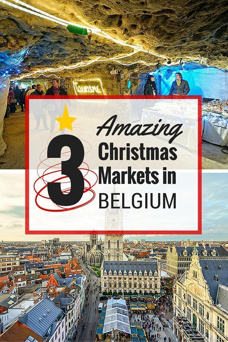 3 Amazing Christmas Markets in Belgium