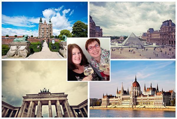 Jenn meets Europe