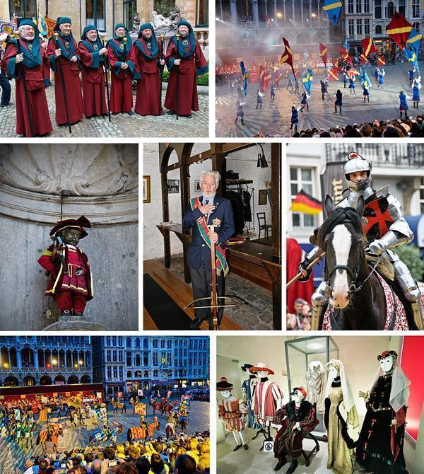 Ommegang activities in Brussels