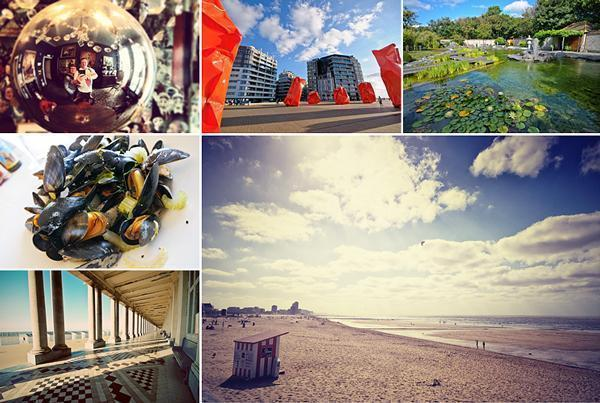 We had a great time exploring Oostende beyond the beach