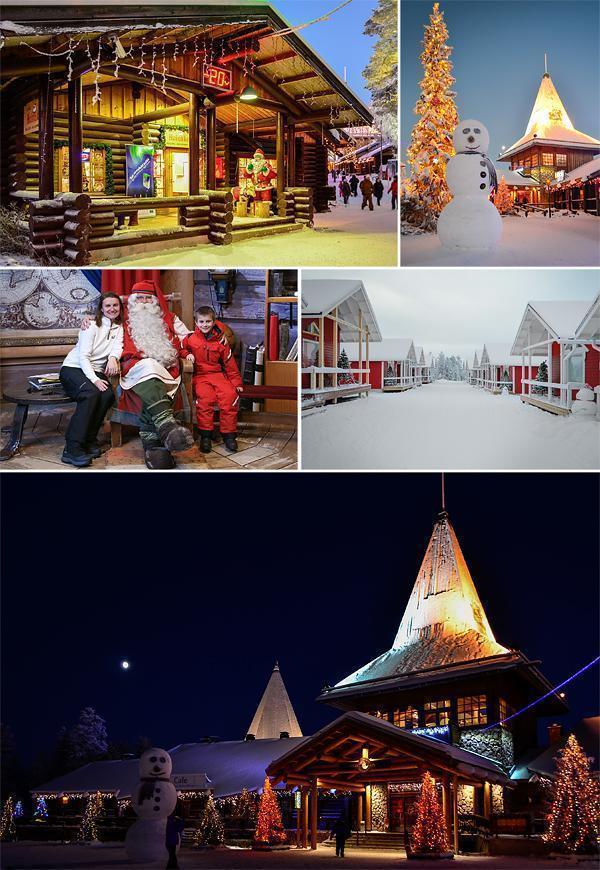 Santa Village in Rovaniemi, Finland