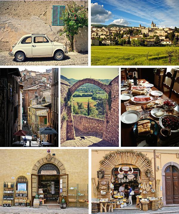 The delights of Umbria and Tuscany, Italy
