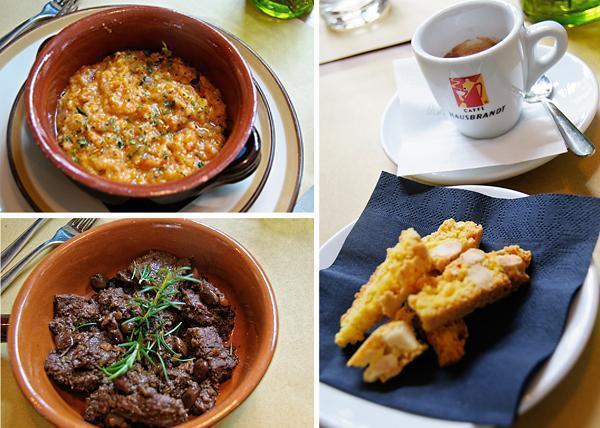 Traditional Tuscan food