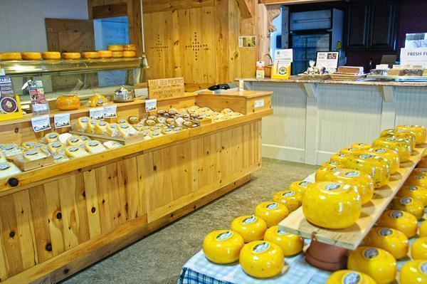 Cheese Please! That Dutchman's Farm shop