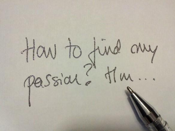 Use a journal to help you keep track of your passions