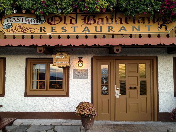 The Gasthof Old Bavarian Restaurant