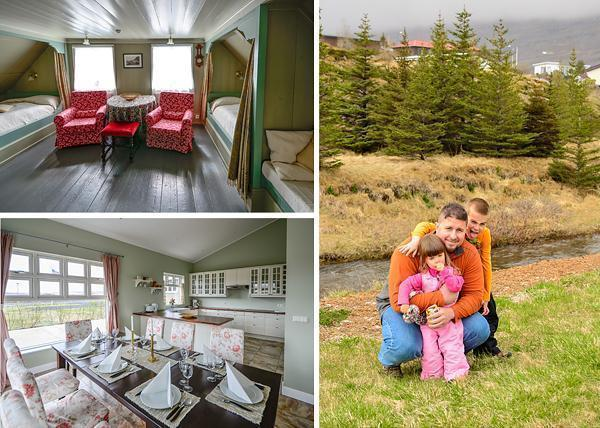 Family accommodation in Iceland