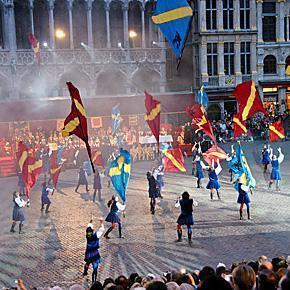 Ommegang Festival Brussels, Belgium