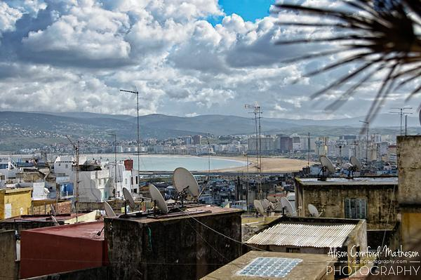 View of Tangier, Morocco