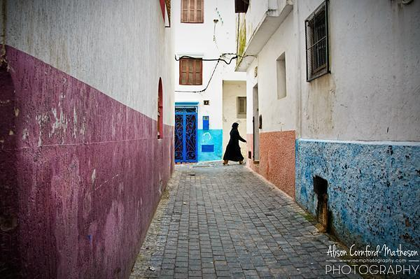 Woman in Tangier, Morocco