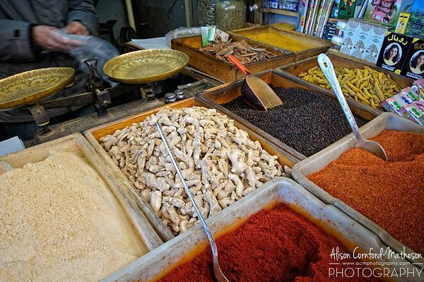 My one souvenir of Morocco was spices.