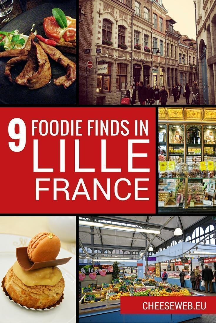 9 Foodie Finds in Lille, France