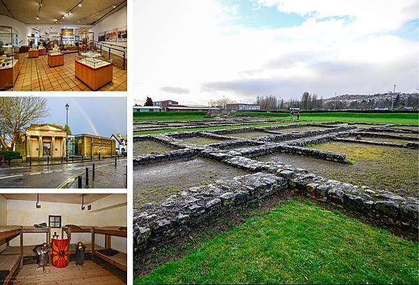 Caerleon Roman Ruins and The National Roman Legion Museum