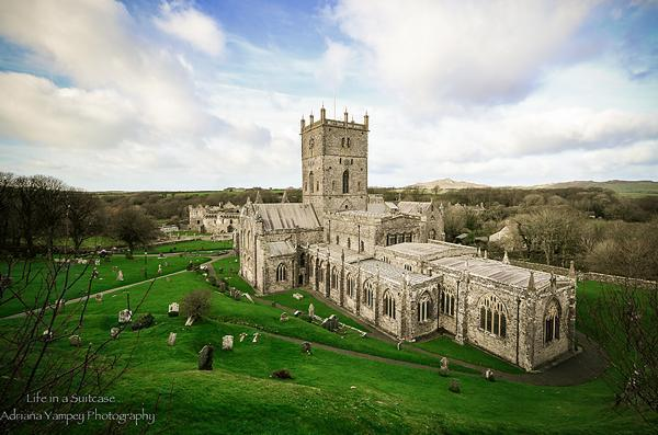 The stunning St. Davids Cathedral