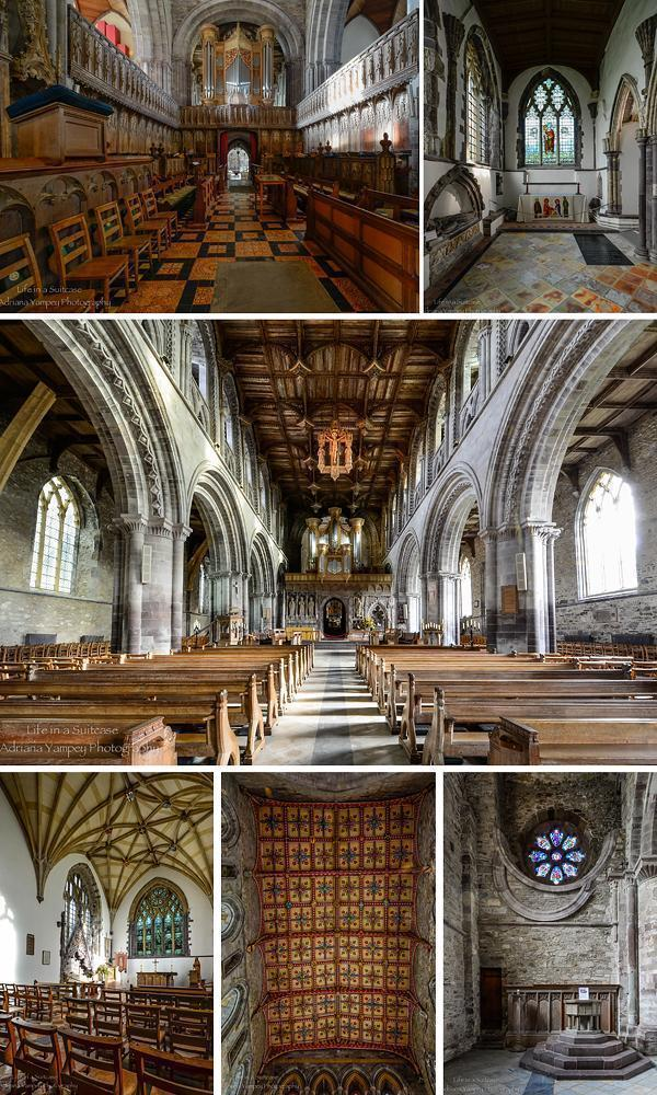 Inside St. Davids Cathedral