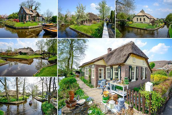Giethoorn - Venice of the North in the Netherlands