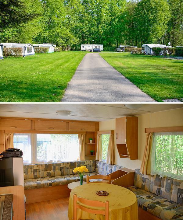 Het Bosbad campground, in Emmeloord