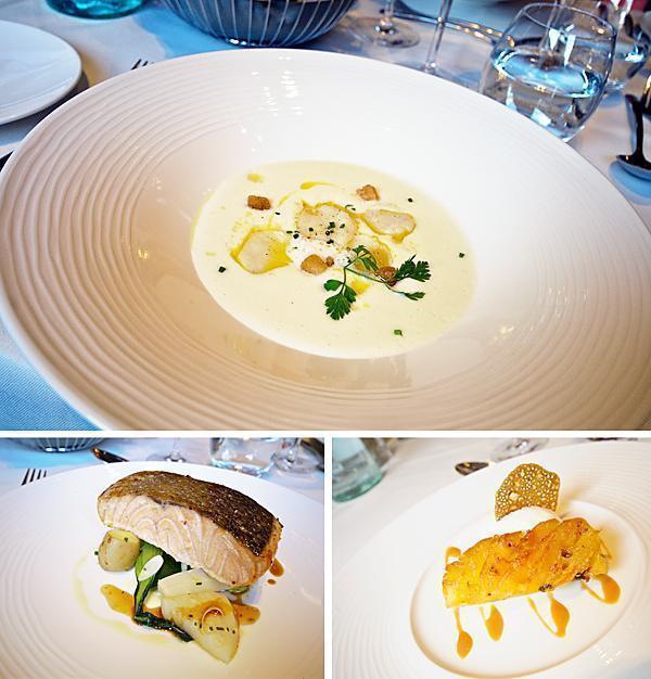 Our fabulous lunch at the Radisson Blu Champs Elysées Paris
