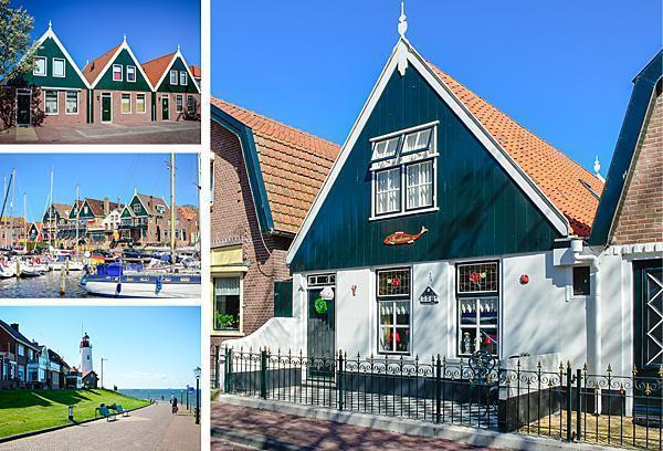 The picturesque village of Urk, The Netherlands