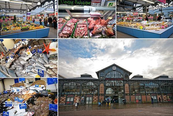 Halle de Wazemmes market in Lille