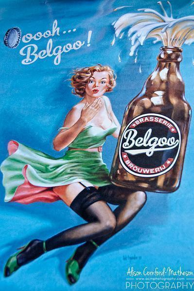 And the beer of the month is... Belgoo