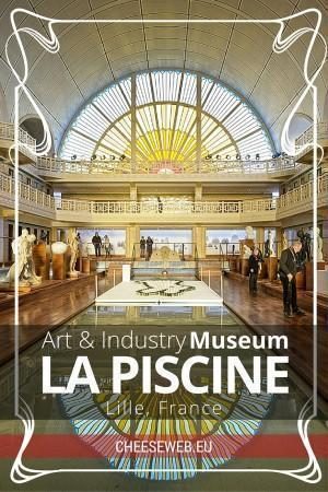 The stunning Art Deco La Piscine Art & Industry Museum in Roubaix, near Lille, Nord-Pas-de-Calais, France
