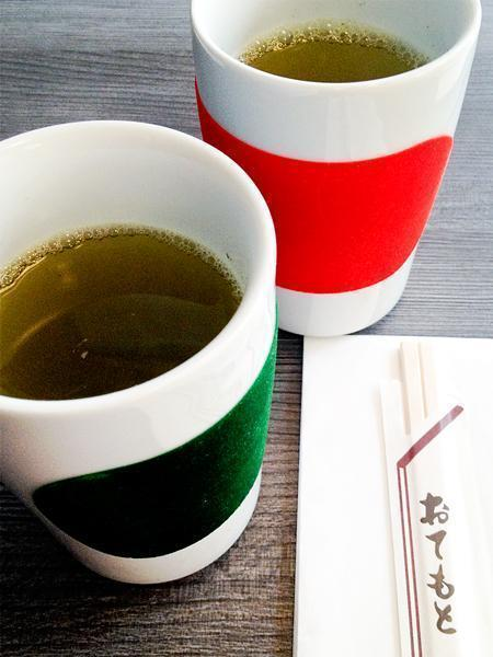 Green tea for two please!