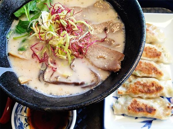 Andrew's pork on pork tonkotsu menu