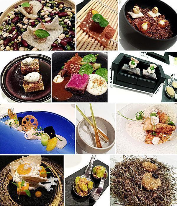 Tasting menu at one Michelin starred Alexandre