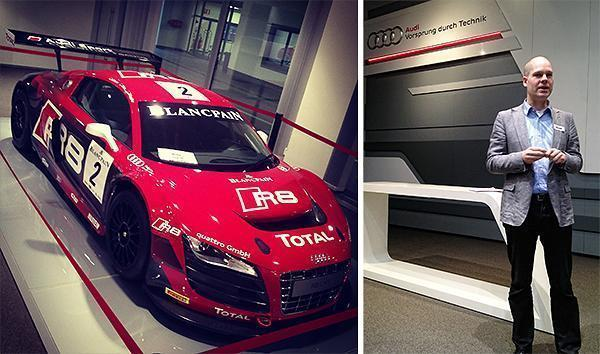 The Brussels Audi Factory tour with Expat Club