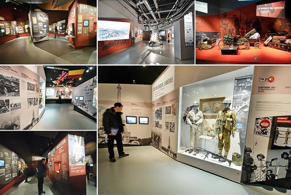 Walking through history in the Bastogne War Museum