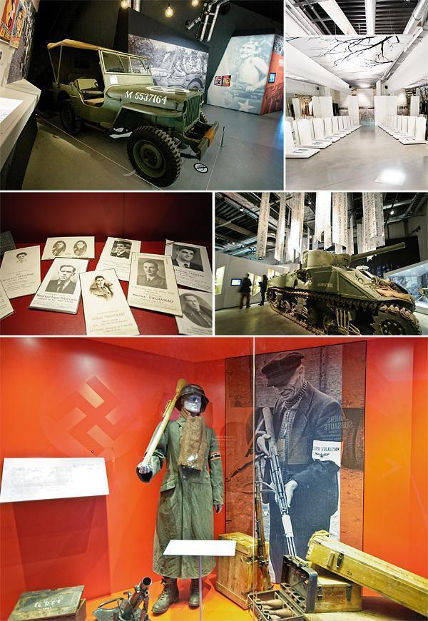 Memories of the terrible Battle of the Bulge at the Bastogne War Museum