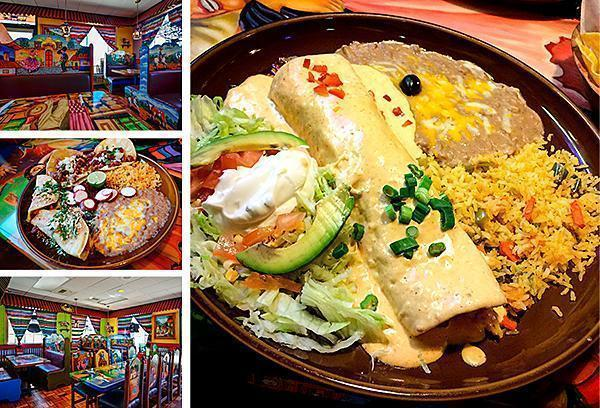 Colourful and delicious El Tapatio Mexican restaurant in Page, Arizona